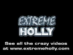 Extreme holly - puke in mouth