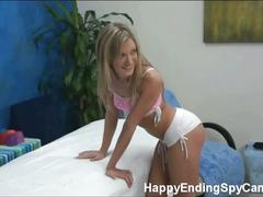 Hot amy brooke drilled in the massage room