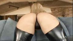 At leather chaps