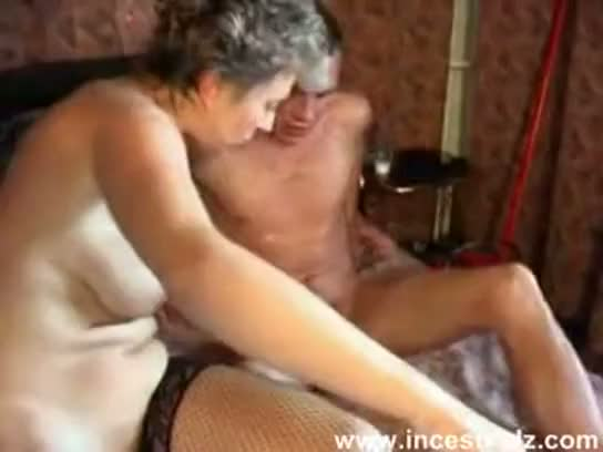 Mom teases and pleases her son