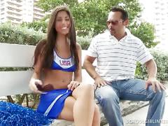Daniela's cheerleader hardcore creampie