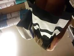 Hot russian girl shoe shopping (june 9 2015)
