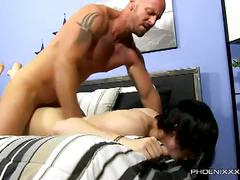 Boy toy gets corrupted by horny daddy