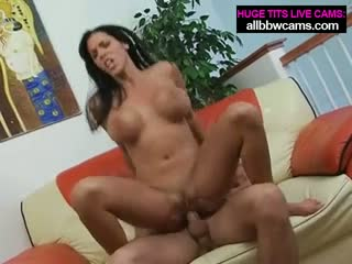 Amazing boobs sex machine fucks hard pt 2