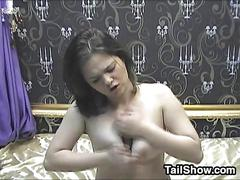 Cute cam girl masturbating amateur