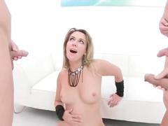 Ani black fox - cumshot compilation music video