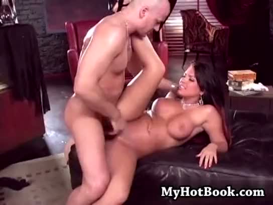 Eva angelina is up for a lusty time at her house