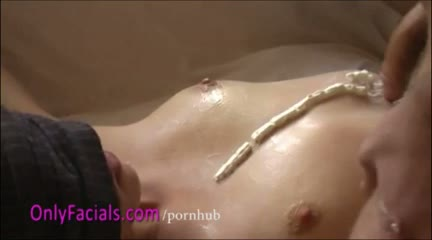 18yo czech amateur eva - blow job with facial