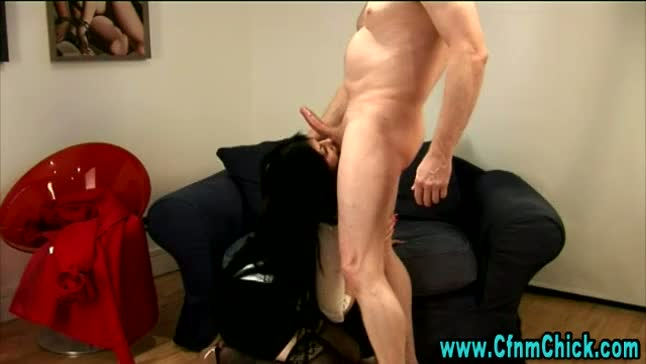 Stockings fetish bitch gets fucked