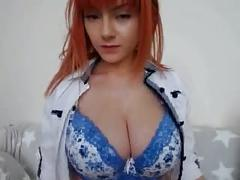 Young redhead boobs - bigger