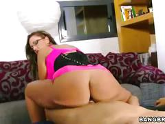 Monster titted milf hard pussy pounding