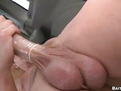 hunks, bi & straight, big cocks, public sex, anal, hardcore, assfucking, gay blowjob, gays, outdoor, straight man, tricked, van