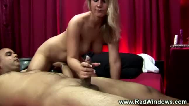 Dirty blond whore gets fucked hard from behind by a tourist