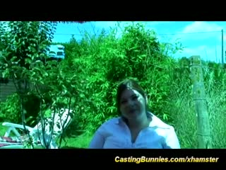 French bbw anal casting