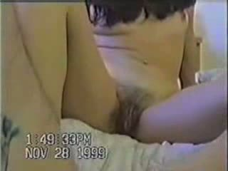 Amateur compilation of a young couple