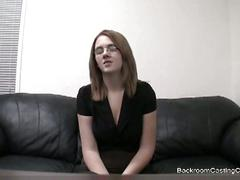 Thi babe loves ass finger and fuck in casting