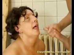 Bbw mom needs a strong cock
