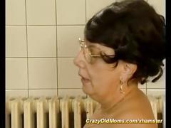 Bbw mom needs a strong cock