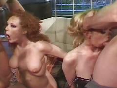 Harcore dp group sex action!