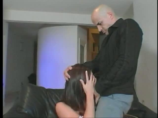 Slut fucking a stiff pecker