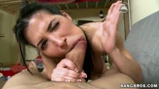 Rebeca linares sucks a mean dick