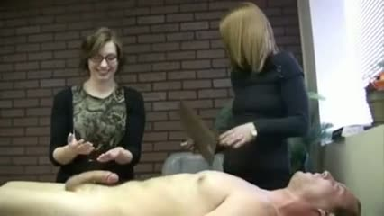 Nerdy girl passes the jerk test !