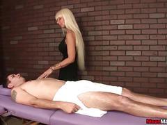 Milf masseuse dominant session