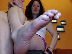 Mistress milf perfect wrinkled soles