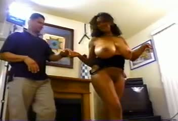 Big tits black bbw