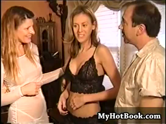 big, blonde, boobs, brunette, cumshot, facial, mature, threesome