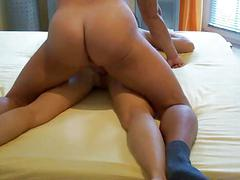 German busty milf creampied in the hotel malibu500