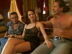 French whore gangbanged