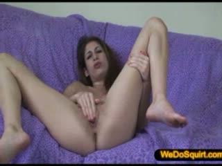 Vickie creamy orgasm