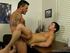 Office anal fuckers collin stone and ryker madison