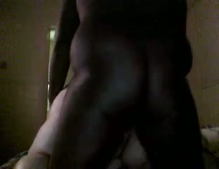 Big black guy, and bbw fucking interracial