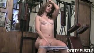 Sexy gym strip