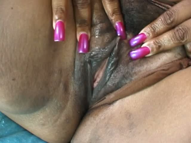 Horny chick banged by a big black cock