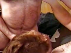 Filthy holes stretching nasty threesome pounding adventure