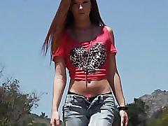 teen, petite, hot, babe, tits, small, skinny, redhead, doggystyle