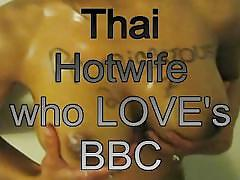 Thai wife loves bbc