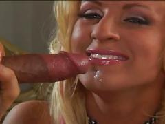 Petite blonde slut's anal