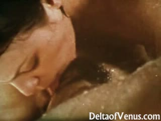 All-natural & wet vintage lesbians 1970s - very sensual