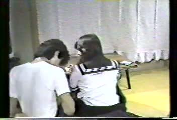 Sailor fuku and pistol