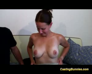 Sexy amateur couple fucking in front of the camera