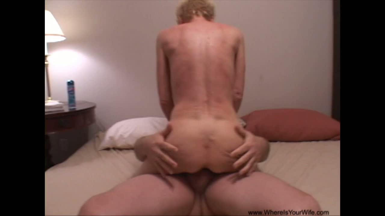 Anal milf gets her first butt fuck