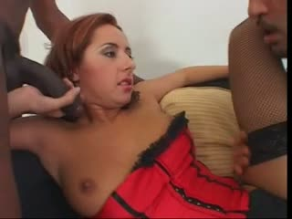 Daria glower in a unique double penetration