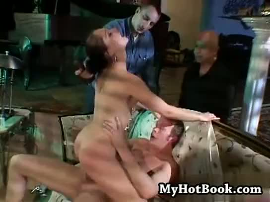 alisha, anal, bizart, brunette, cumshot, double, facial, penetration, swallow, threesome