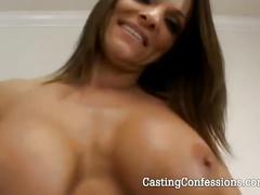amateur, big tits, brunette, hairy pussy, hardcore, milf, pov,