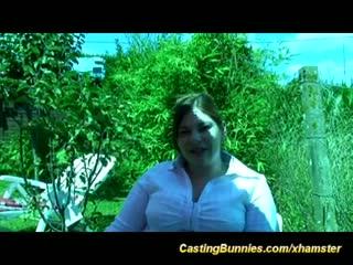 French anal bbw casting