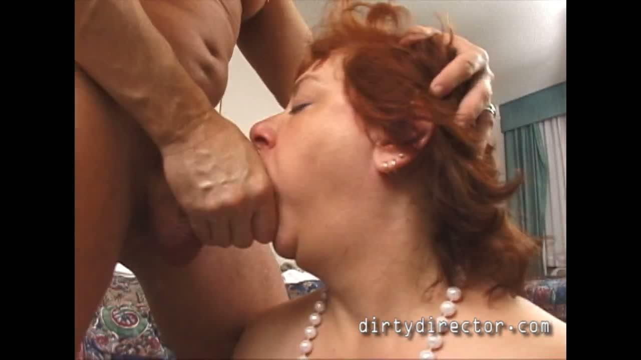Big butt granny gets naughty ass fucked
